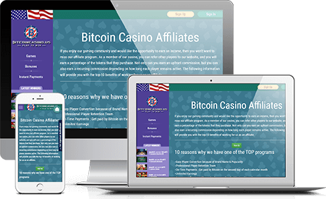 Join BitcoinCasino.us Affiliate Program