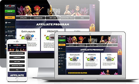 Join Playamo Affiliate Program